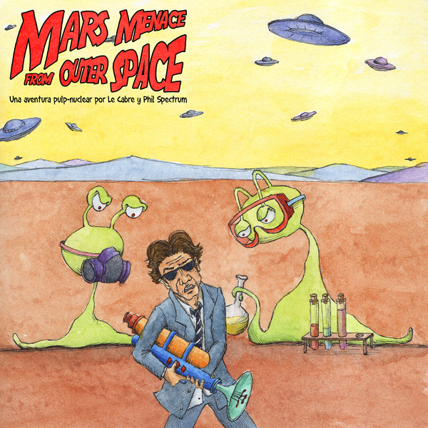 Mars Menace From Outer Space